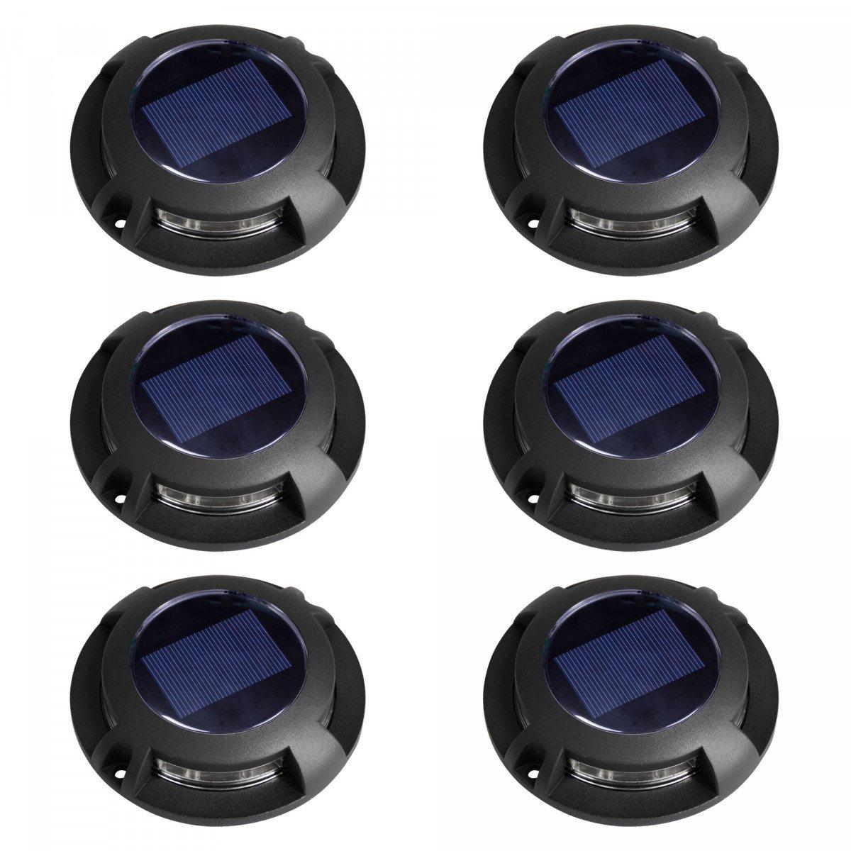 grondspot - Solar LED Decklight - solarlamp - zonne energie spot - Nostalux-Set-6