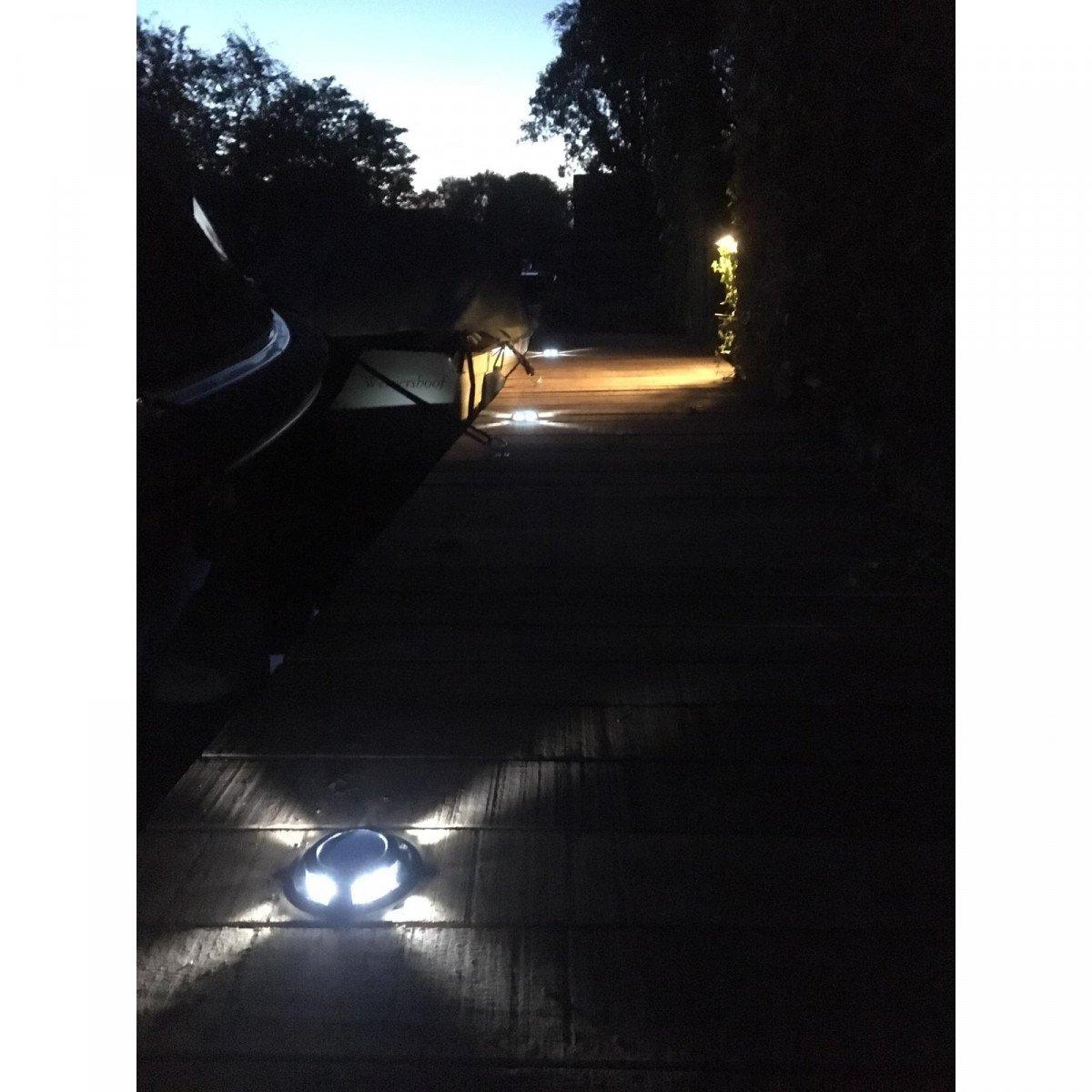 grondspot - Solar LED Decklight - solarlamp - zonne energie spot - Nostalux-Set-3