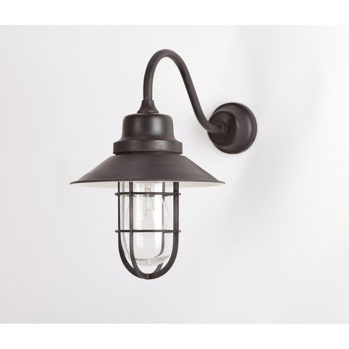 Vintage Vermont Stallamp antiek brons