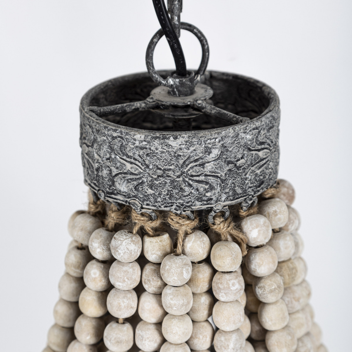 Kralen hanglamp Perle Medium