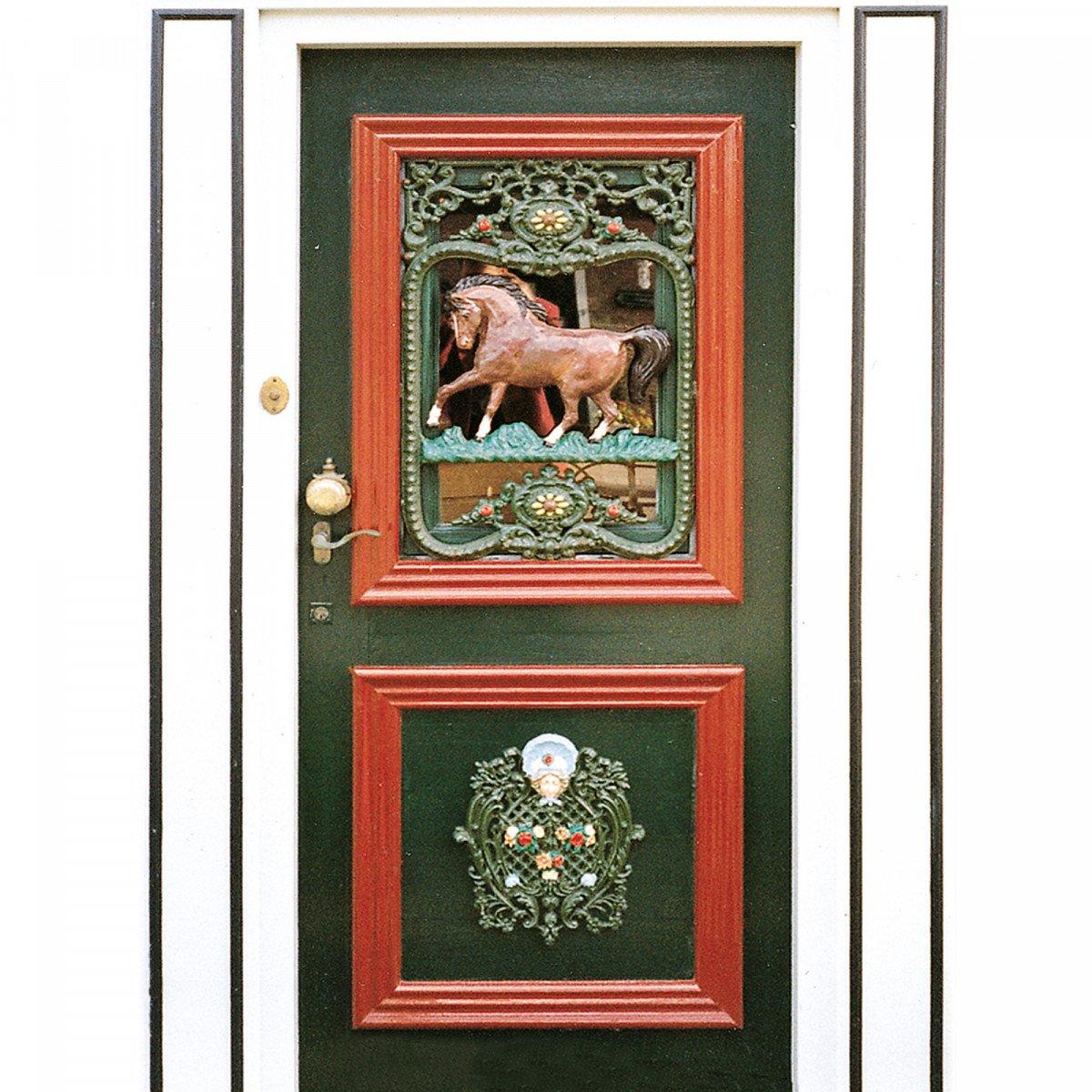 Engel Ornament 39 x 32 (0204) -  - Deurroosters