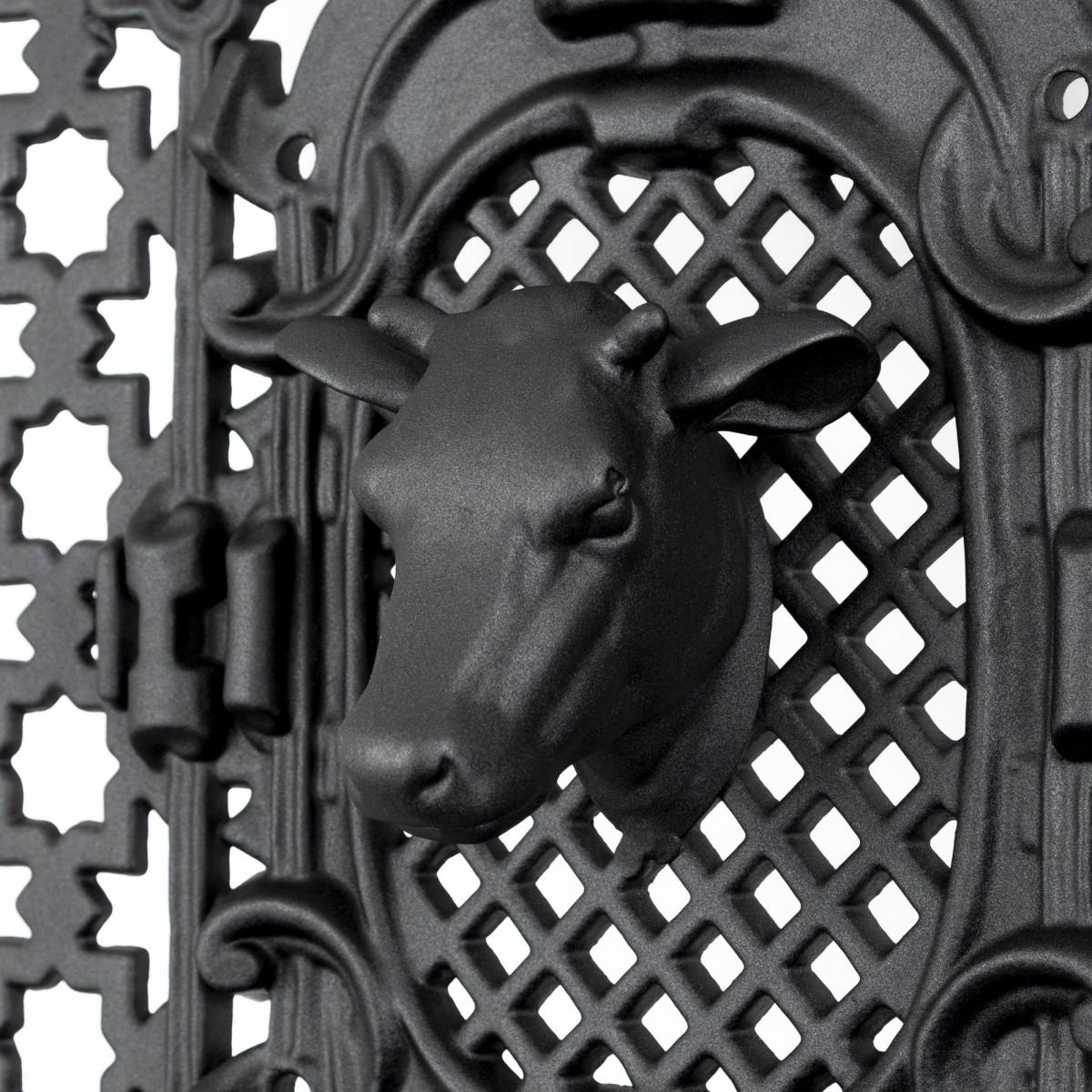 Koeienkop aluminium 11,5 x 13 (KOEIENKOP) -  - Deurroosters