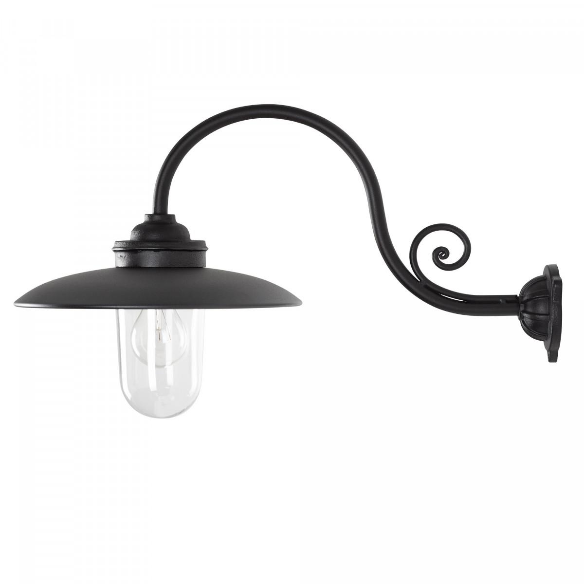 Stoere Stallamp Rhone buitenlamp  Zwart
