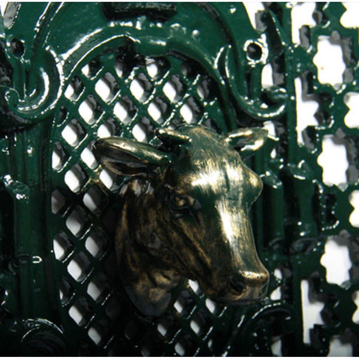 Deurrooster R 491 B Koeienkop H:108 x B:68 (5343) -  - Deurroosters