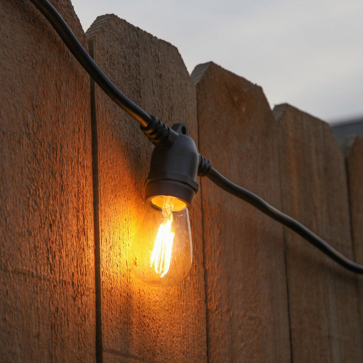 Feestverlichting LED Patio 20 helder - 20 meter / 24 fittingen