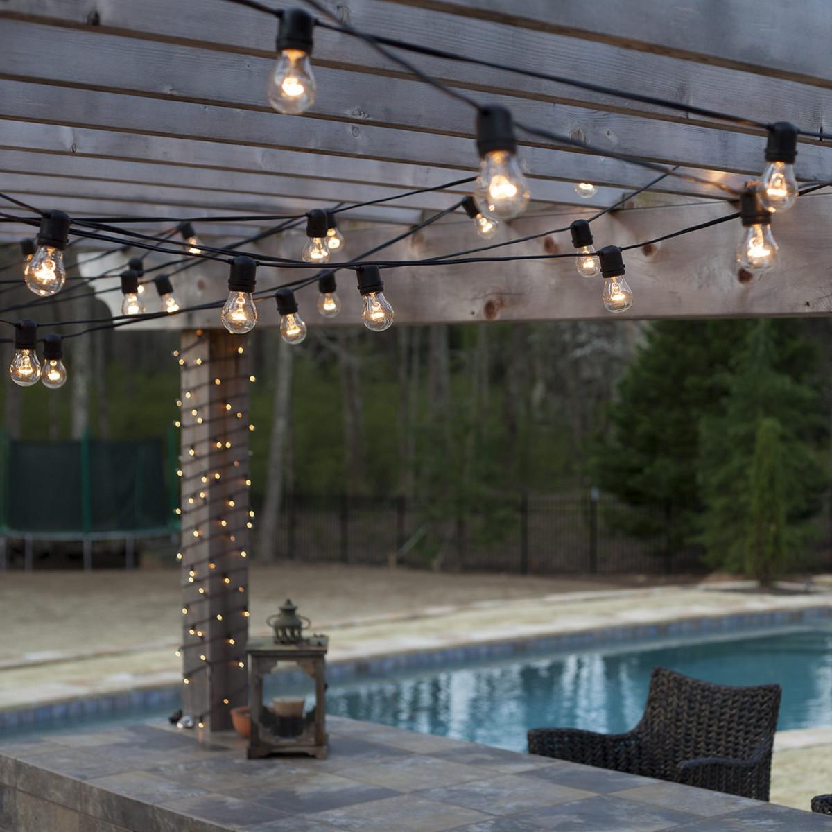 Feestverlichting LED Patio 30 helder - 30 meter / 36 fittingen