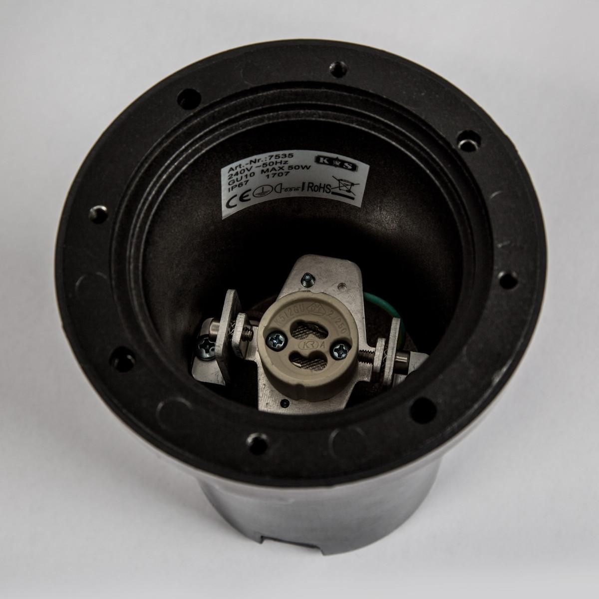 RVS Grondspot Unit inclusief GU10 LED