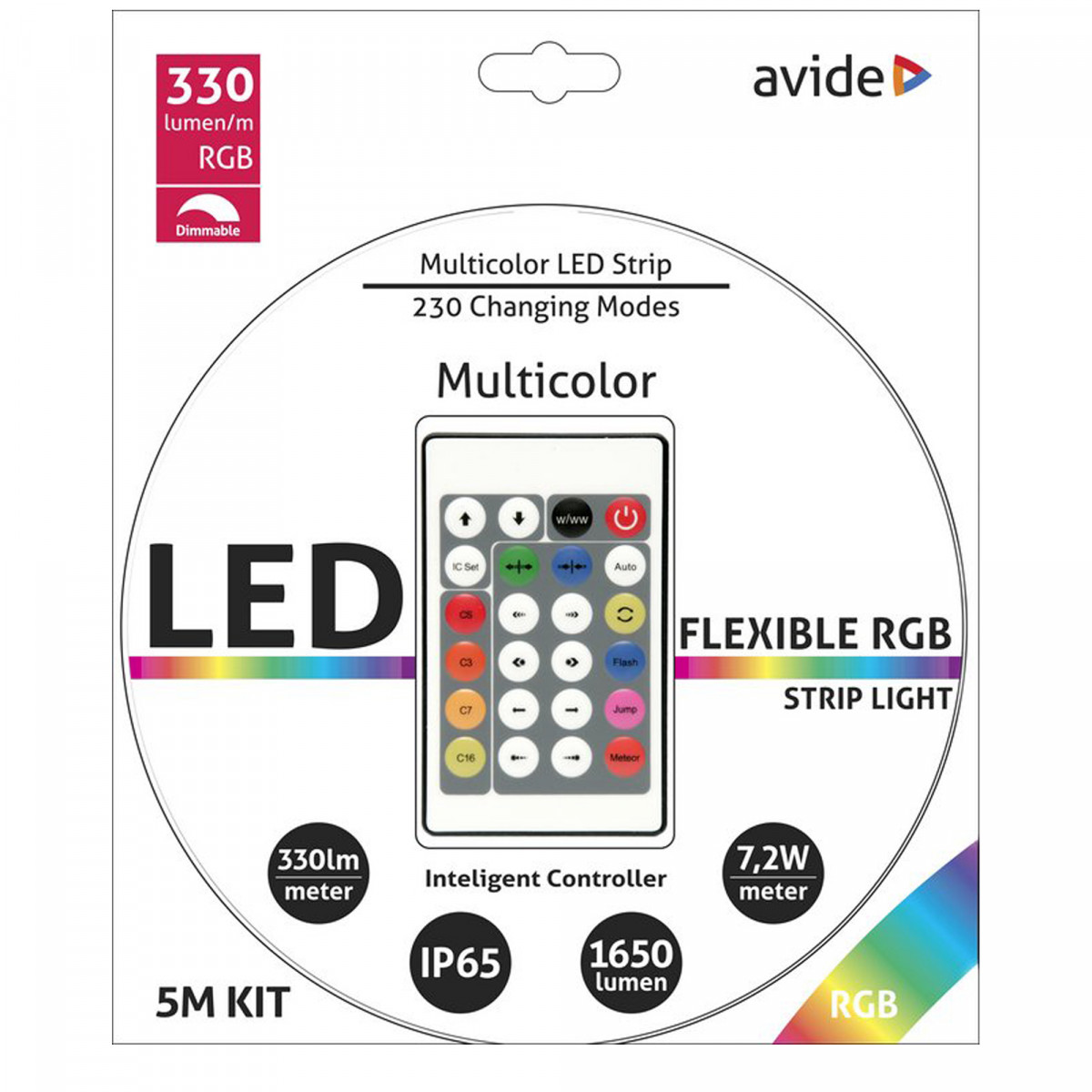 Led strip multicolor