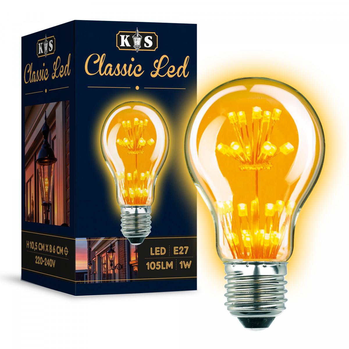 Ledlamp 5883 classic led lamp lichtbron