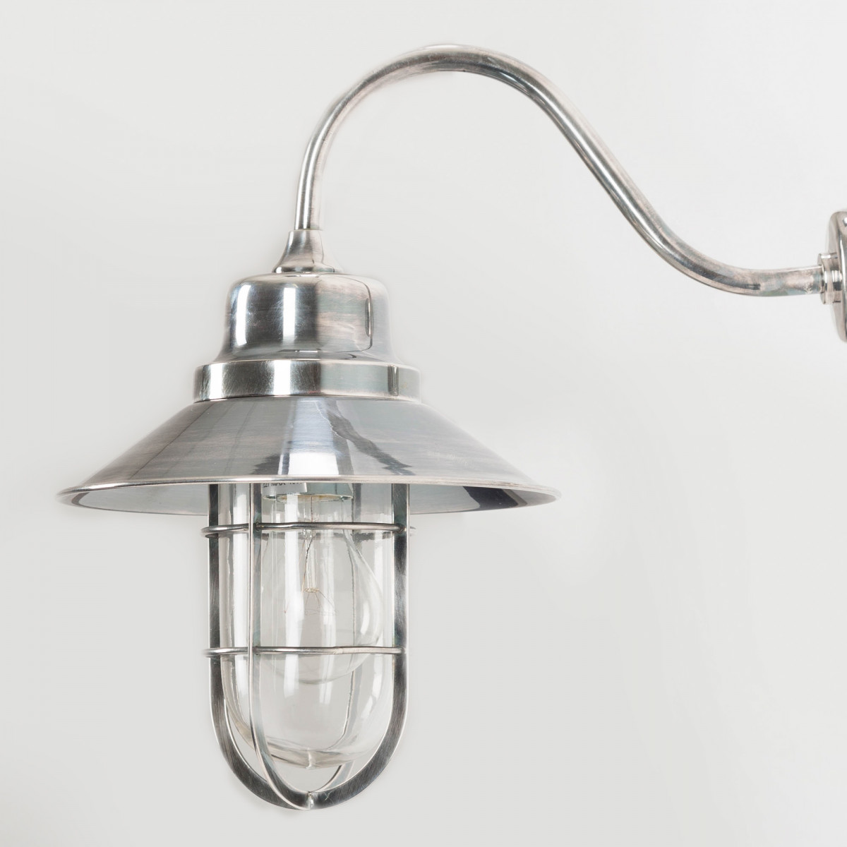 Nostaluce Vermont Vintage Stallamp antiek zilver