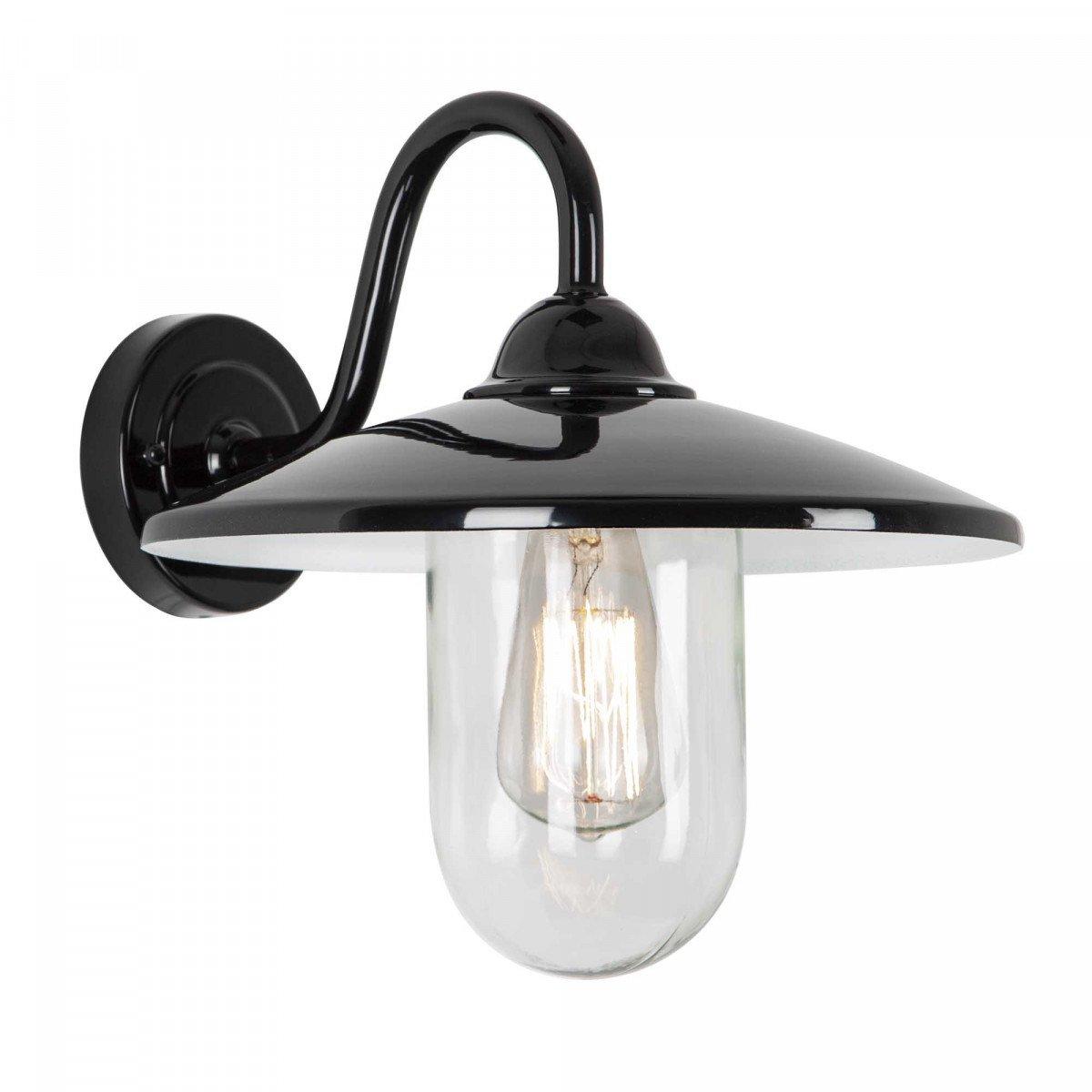 Buitenlamp brig zwart Dag Nacht sensor LED Schemersensor