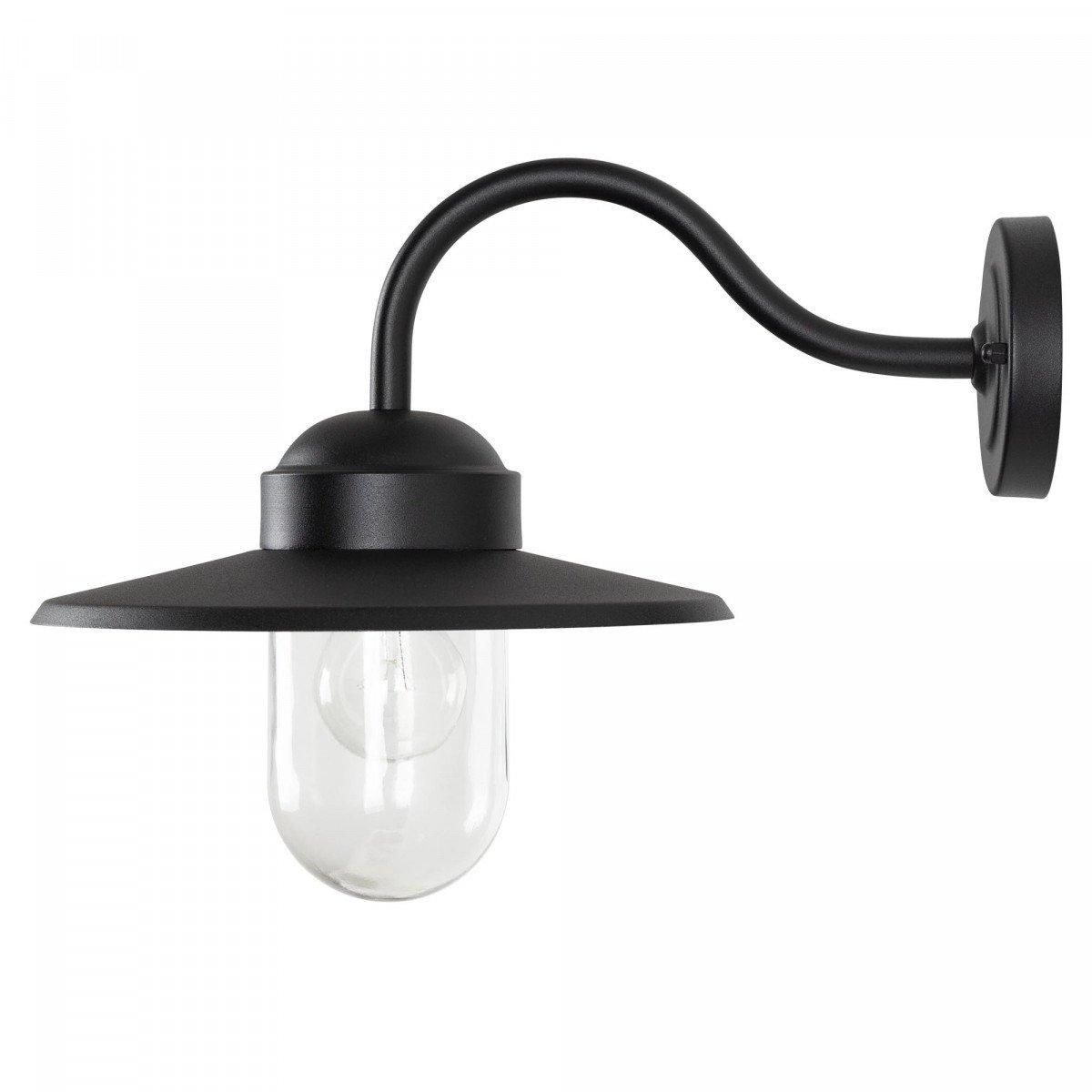 buiten verlichting - Dolce Retro Zwart wandlamp - Buitenlamp KS Verlichting
