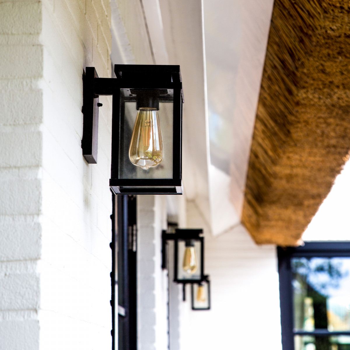 Buitenlamp Jersey Medium (7353) mat zwart - KS Verlichting
